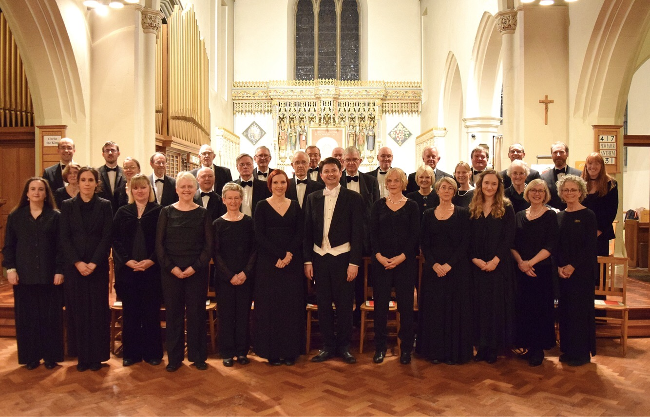 Photo of choir, November 2016